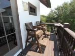 Balcony Off Living Room - Enjoy Gulf Breezes