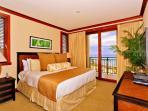Master Bedroom with Ocean Front View