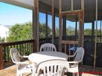 Top Floor Deck & Screened Porch