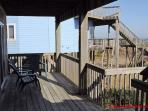 1st Floor Covered Porch & Deck