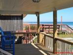 Top Floor Porch w/ Outdoor Furniture