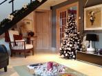 Christmas at Sealladh Breagh just like home!