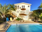 Mulit-level entertaining space and private 18'x11'x4' pool