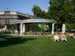 Szabadsag ter, one of the nicest parks in the city, is 300 meters from the apartment