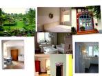 Garten  (Süd und Westhang) und Wohnungsbilder (Küche nach Süden und Westen)