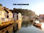 The Anchorage is located overlooking the historic, picturesque harbour of Polperro
