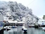 Photos of picturesque Polperro in Cornwall taken within 1-2 mins walk of Little Laney