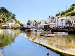Photos of picturesque Polperro in Cornwall taken within 2-3 mins walk of Pierinn House