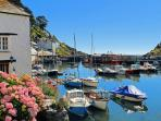 Photos of picturesque Polperro in Cornwall taken within 2-3mins walk of Pierinn Studio