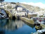 Photos of picturesque village of Polperro in Cornwall taken within 4-5 mins walk of Kirk House