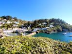 Photos of picturesque Polperro in Cornwall taken within 3-4 mins walk of Molyneux