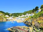 Photos of picturesque Polperro in Cornwall taken within 4-5 mins walk of The Shell House