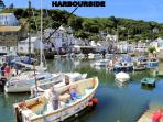 Harbourside is located overlooking the historic, picturesque harbour of Polperro