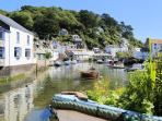 Photos of picturesque Polperro in Cornwall taken within 1-2mins walk of harbourside