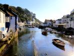 Photos of picturesque Polperro in Cornwall taken within 1-2 mins walk of Fairview Cottage