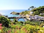Photos of picturesque Polperro in Cornwall taken within 4-5 mins walk of Fairview Cottage