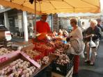 You can visit a different market every day! Each with characterful stallholders.