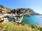 Photos of picturesque Polperro in Cornwall taken within 3-4 mins walk of Harbour Studio