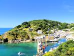 Photos of picturesque village of Polperro in Cornwall taken within 3-4 mins walk of Kirk House
