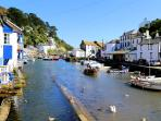 Photos of picturesque Polperro in Cornwall taken within 1-2 mins walk of Haven Cottage