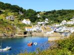 Photos of picturesque Polperro in Cornwall taken within 4-5 mins walk of Haven Cottage