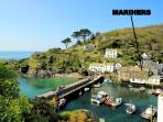 Mariners is located overlooking the historic, picturesque harbour of Polperro