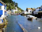 Photos of picturesque Polperro in Cornwall taken within 1-2 mins walk of The Moorings