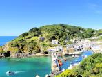 Photos of picturesque Polperro in Cornwall taken within 2-3mins walk of Gull Cottage