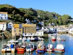 Photos of picturesque Polperro in Cornwall taken within 1-2 mins walk of Slipway