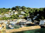 Photos of picturesque Polperro in Cornwall taken within 4-5 mins walk of Bridgend House