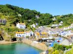 Photos of picturesque Polperro in Cornwall taken within 3-4 mins walk of Bridgend House