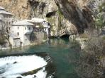 Source of river Buna