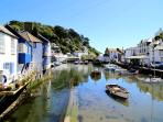 Photos of picturesque Polperro in Cornwall taken within 100 meters of Curlew Cottage