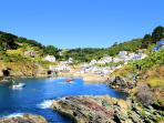 Photos of picturesque Polperro in Cornwall taken within 4-5 mins walk of Curlew Cottage