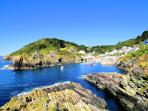 Photos of picturesque Polperro in Cornwall taken within 4-5mins walk of Gull Cottage