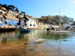 Photos of picturesque village of Polperro in Cornwall taken within 2-3 mins walk of Minnies Cottage