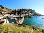Photos of picturesque village of Polperro in Cornwall taken within 4-5 mins walk of Minnies Cottage