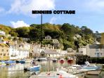 Minnies Cottage is located in the heart of picturesque Polperro & isjust 50 meters from the harbour
