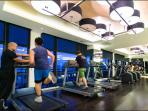 access to amenities, the gym
