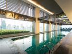 access to amenities, lap pool