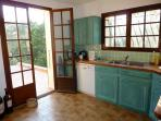 Kitchen - leading onto terrace