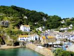 Wayside Cottage is located in picturesque Polperro & just 3 mins walk from the harbour