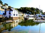 The Shell House is located in the heart of picturesque Polperro & just 1 mins walk from the harbour