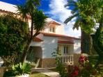 Front of villa sereia
