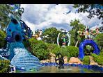 The Stunning Tarot Garden, just 1.5 km away..