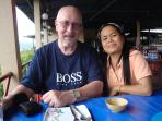 Your hosts, Tony (Aussie) and Bor (Thai). We love to help our guests with our local knowledge