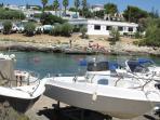 spiaggia Baia d'argento con ristorante sul mare e servizio boat