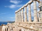 Cape Sounion (the temple of Poseidon).