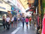 Athens Flea market.