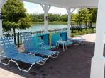 Pool Deck at Kid's Splash Area